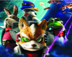 BANNER STAR FOX- LONA - 2,0x1,0m