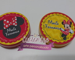 Latinha Mint To Be - Minnie Vermelha