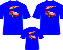 Camiseta Personalizada Hot Wheels 2