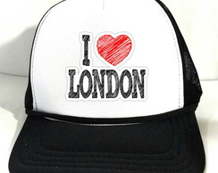 Boné Trucker I love London Londres