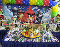 Mesa decorada Angry Birds
