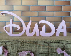 Festa Disney Letras Decorativas