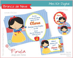 Mini Kit Digital Branca de Neve
