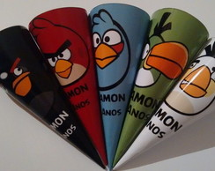 Cones Angry Birds