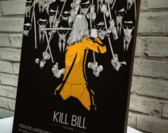 Poster / Quadro A4 Kill Bill