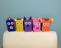 Sacolas Backyardigans