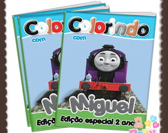 Revista de Colorir Thomas