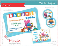 Mini Kit Digital Pocoyo