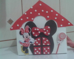 Centro de mesa casinha Minnie