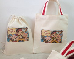 Eco Bag JAKE E OS PIRATAS