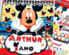 Revista de colorir Mickey Mouse
