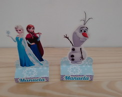 Porta chocolate TEMA FROZEN