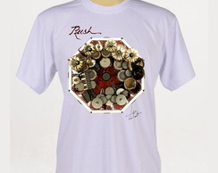 Camiseta Rock - Rush - Neil Peart