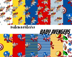 kit digital avengers baby