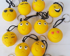 Emoticons chaveiros (biscuit)