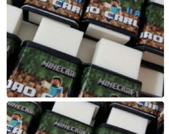 Borracha personalizada Minecraft