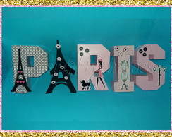 Letras 3D Paris