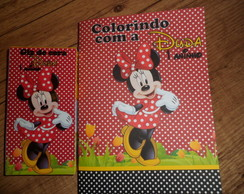 Kit livrinhos de Colorir Minnie