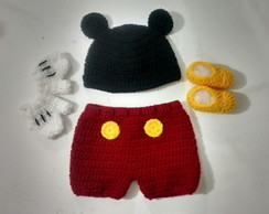 Roupa do Mickey para new born