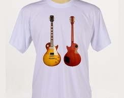 Camiseta Rock - Guitarra Gibson