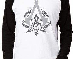 Camiseta Raglan Assassins Creed #2