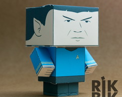 Paper Toy Spock