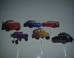 toppers carros disney