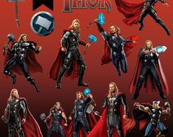 Kit Digital PNG - Thor