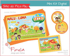 Mini Kit Digital Sítio do Pica Pau