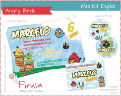 Mini Kit Digital Angry Birds