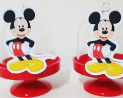 MINI CÚPULA COM APLIQUE MICKEY