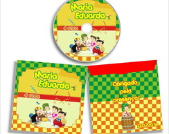 DVD ou CD do Chaves