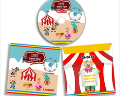 DVD ou CD Personalizado do Circo
