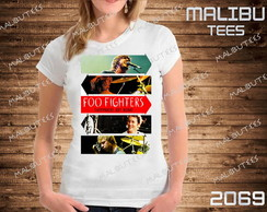 Baby look Foo Fighters Rock banda cantor