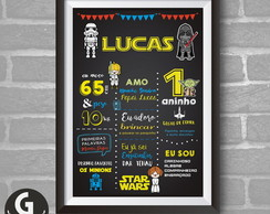 Chalkboard -STAR WARS 01 Digital