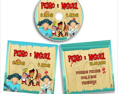 DVD ou CD personalizad Jake e os piratas