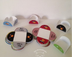 Forminhas doces Angry birds