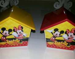 Casinha Mickey e Minnie