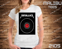 Baby Look Metallica Banda Rock Cantor