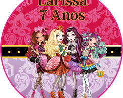 Rótulo Latinha Ever After High