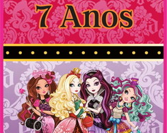 Rótulo Tubete Ever After High