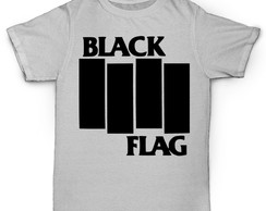 Camiseta Personalizada Black Flag