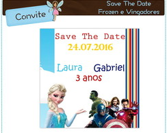 Frozen e Vingadores | Save The Date