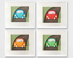 Quadro Fusca Collection