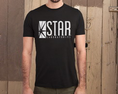 Camiseta The Flash - Star Laboratories