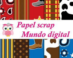 PAPEL DIGITAL COWBOY 1-14