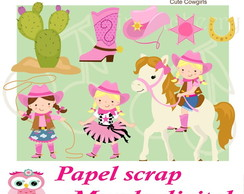 PAPEL DIGITAL COWGIRL 1-22