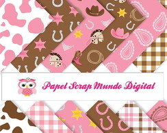PAPEL DIGITAL COWGIRL 1-23