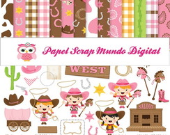 PAPEL DIGITAL COWGIRL 1-25