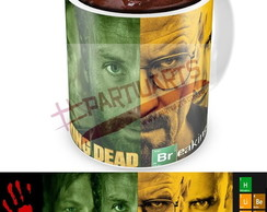 Caneca The Walking dead X Breaking Bad